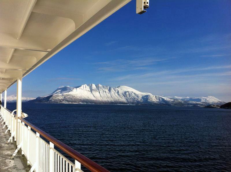 kurz vor Tromsø